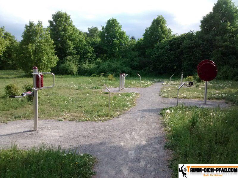 Bewegungsparcours Karlsruhe - Trimm-Dich-Pfad